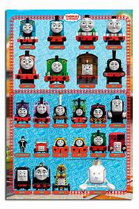 Thomas The Tank Engine And Friends Characters Large Wall