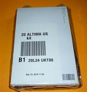 2020 Nissan Altima Sedan Owners Manual Set 20  Case S Sv