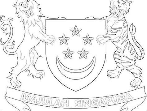 Singapore Coloring Pages At Getcolorings.com