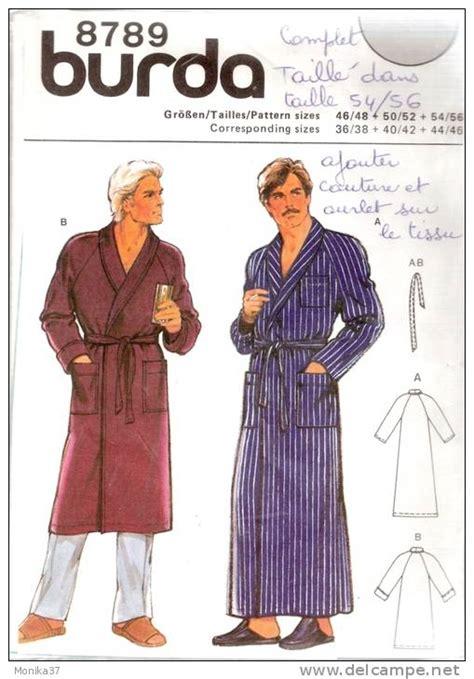 patron robe de chambre femme modele couture robe de chambre