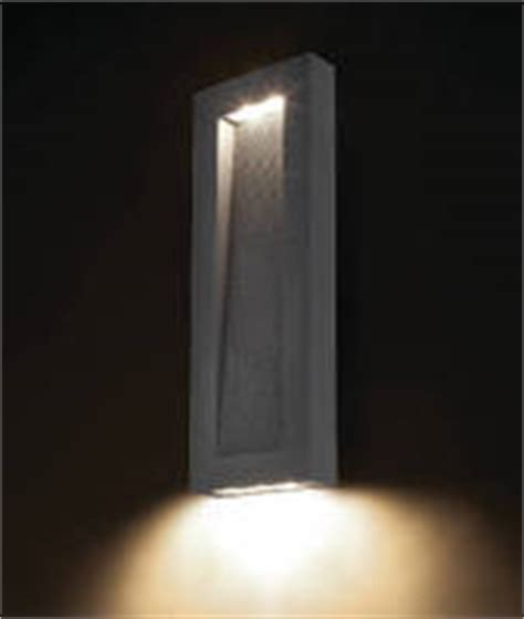 led wall sconce suits interior and exterior applications