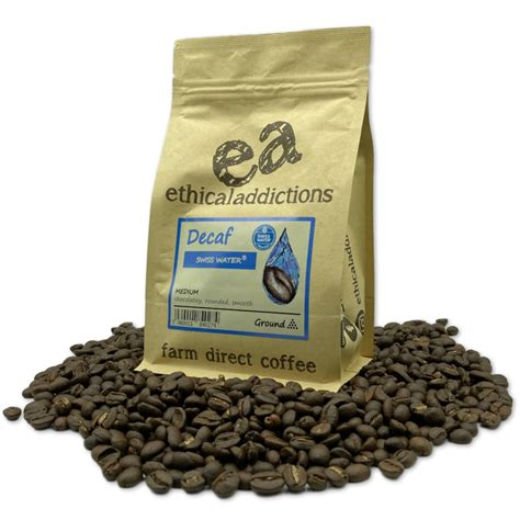 Did you know it makes up to 95 to 98% of the coffee in your cup? Swiss Water Decaffeinated | Best Decaf Coffee UK