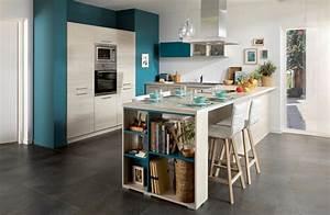 Ide peinture cuisine ouverte idee peinture cuisine for Idee peinture cuisine ouverte
