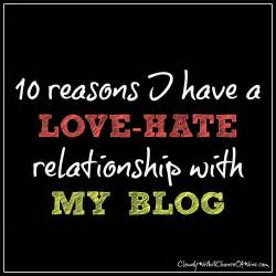 Love and Hate Relationship Quotes