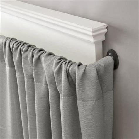 eclipse room darkening blackout wrap curtain rod walmart