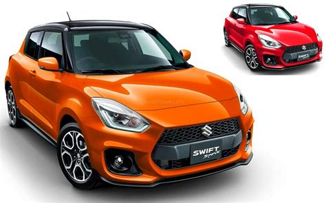 Prior to this, the swift nameplate had been applied to the rebadged suzuki cultus in numerous export markets since 1983 and became its own model. 2020 Suzuki Swift Sport With More Features, New Colours ...