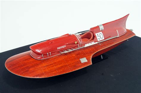 An enthusiast for motor boat racing, achilles castoldi decided to focus on setting top speed records in 1953. Sold: Model Boat - Ferrari Hydroplane (90cm long) Auctions ...