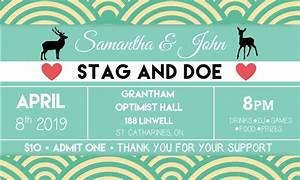 Stag doe tickets econoprint for Stag and doe ticket templates