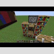 How To Make Bookshelves In Minecraft Wwwpixshark