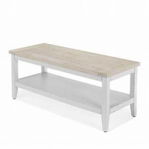 Meuble Pied De Lit : meuble banc pour pied de lit blanc sofia tiroirs et ~ Teatrodelosmanantiales.com Idées de Décoration