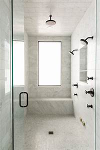 Studio Mirror With Lights 16 Perfect Marble Bathrooms With Black Fixtures