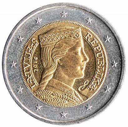 Euro Coin Latvian Coins Wikipedia Value Euros