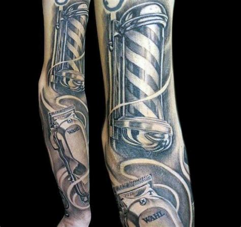 top  barber tattoo ideas  inspiration guide