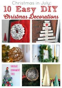 Easy DIY Christmas Decorations