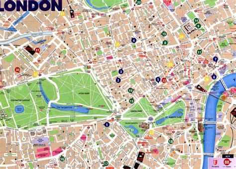 london map map pictures