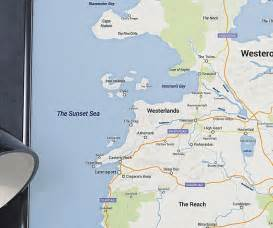 Google Map Game of Thrones