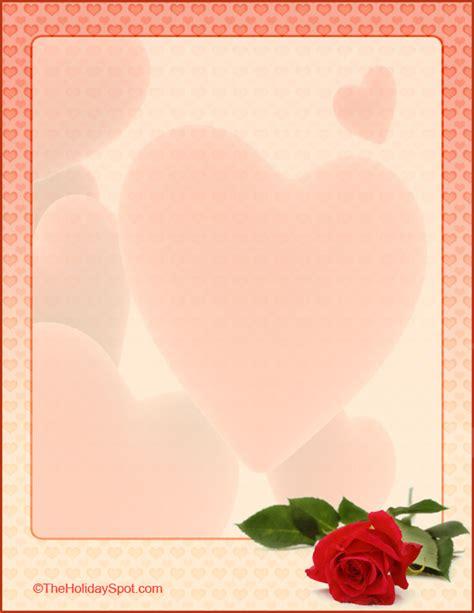 love  valentines letterheads  print