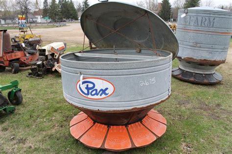 pax pig feeder hibid auctions