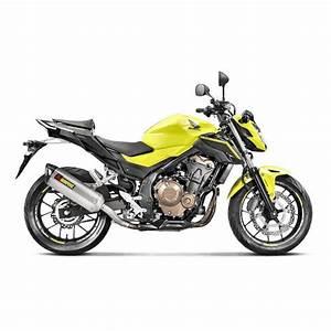 Honda Cb 500 2017 : akrapovic slip on exhaust honda cbr500r cb500f 2016 2017 revzilla ~ Medecine-chirurgie-esthetiques.com Avis de Voitures
