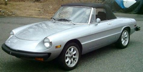 1976 Alfa Romeo Spider by Find Used 1976 Alfa Romeo Spider Veloce Convertible 2 Door