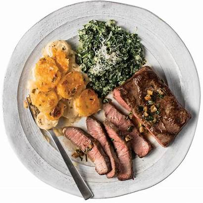 Steak Dinner Meals Steaks Flat Iron Build