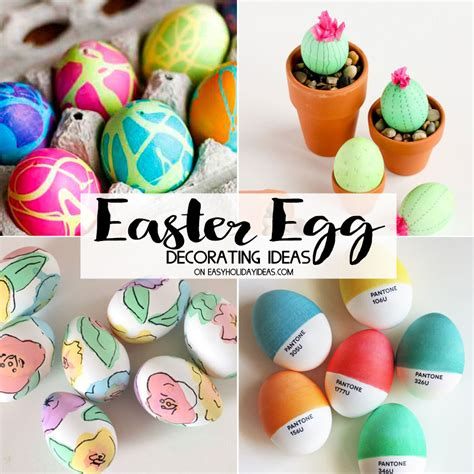 Decorating Ideas For Easter Eggs by Easter Egg Decorating Ideas 950 Easy Ideas