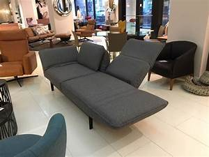 Grey, Fabric, Functional, Sofa, Chaise, Lounge, With, Black, Steel, Frame, By, Rolf, Benz, For, Sale, At, 1stdibs