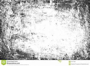 Grunge Background, Old Frame Black White Texture, Dirty ...