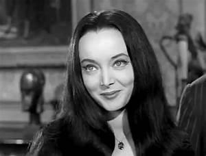 April 28: Carolyn Jones! Played Morticia Addams in 'The ...