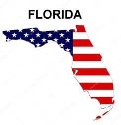 Florida Map and Flag