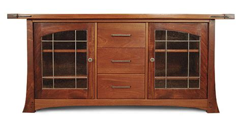 craftsman media cabinet craftsman style media cabinet finewoodworking