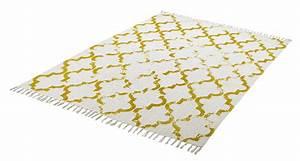 Tapis En Coton : tapis en coton style scandinave vintage jokk ~ Nature-et-papiers.com Idées de Décoration
