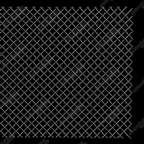 Fits Universal Black Stainless Steel Mesh Grille 12x48 1pc