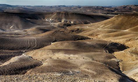 picture desert landscape valley sand wasteland