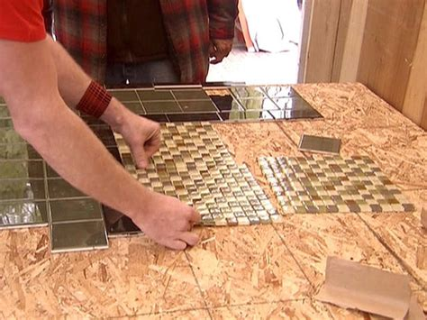 create a mosaic tile tabletop easy crafts and