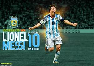 Lionel Messi Argentina World Cup 2014 Wallpaper by ...