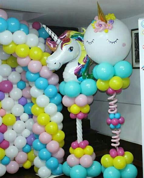 Pin De Alison May En Balloon Decor  Pinterest Unicornio