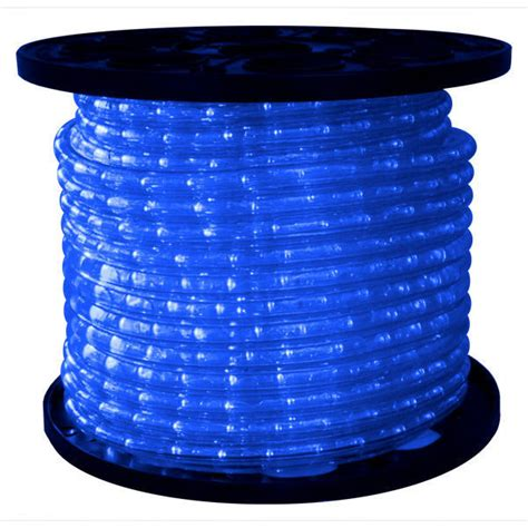 blue rope lights 1 2 in led blue rope light led 13mm bl 150 12v