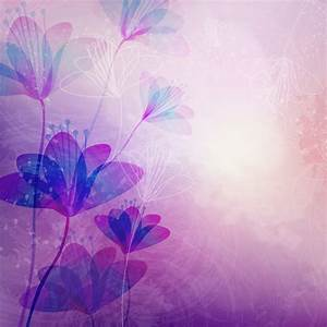 Purple Flowers Background - WallpaperSafari