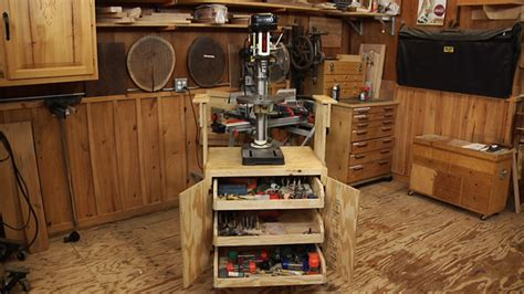 build  shop cabinet  benchtop tools