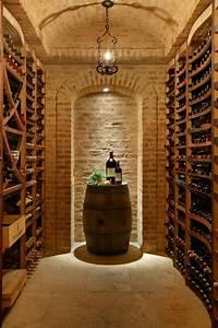 Wine Cellars in Stone - Mediterranean - Wine Cellar - New