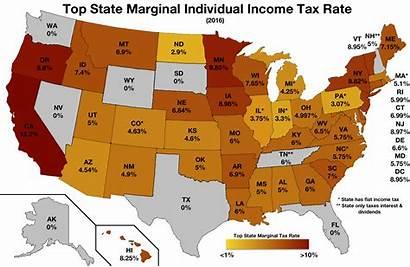 Income Tax State States Idaho Rates California