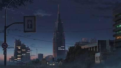 Kimi Anime Wa Nawa Night Landscape Desktop