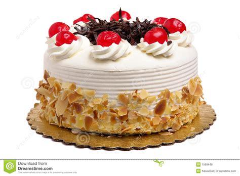 Torta Con Le Ciliege Immagini Stock Libere da Diritti