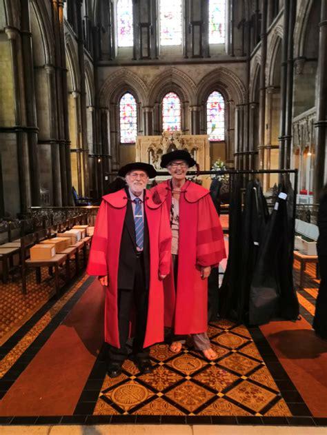 nttl ambassador mavis nye recognised  honorary degree