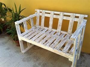 Il divanetto per esterni in stile shabby Cose di Casa