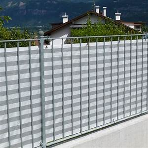Sichtschutzmatten Kunststoff Meterware : balkonbespannung pp grau wei sichtschutz ~ Eleganceandgraceweddings.com Haus und Dekorationen