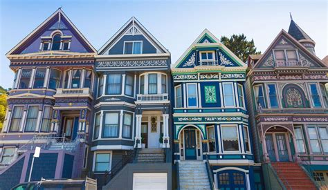 Painted Ladies San Francisco Architecture  Bay City Guide