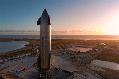 spacex  test  starship sn prototype today