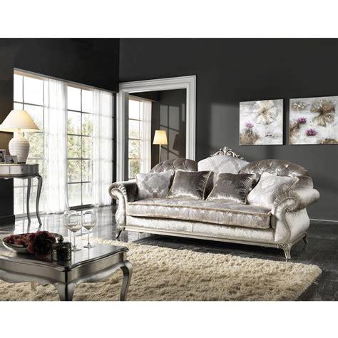 Italian Sofa Company by Italian 3 Seater Fabric Sofa Classic Design Liberty